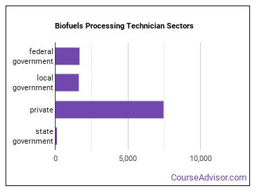 Biofuels Processing Technician Sectors