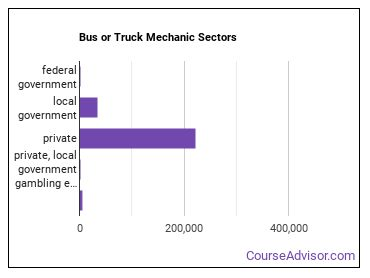 Bus or Truck Mechanic Sectors