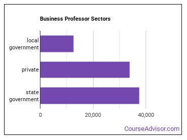Business Professor Sectors