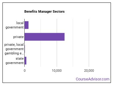 Benefits Manager Sectors