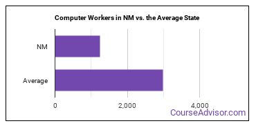 Computer Workers in NM vs. the Average State