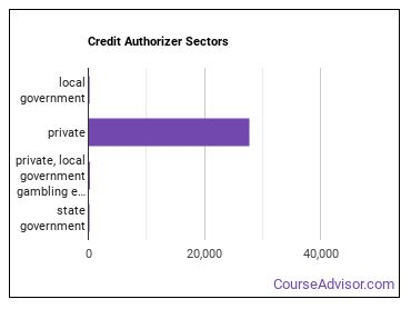 Credit Authorizer Sectors