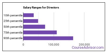 Salary Ranges for Directors