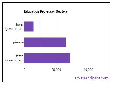 Education Professor Sectors