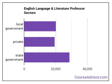 English Language & Literature Professor Sectors
