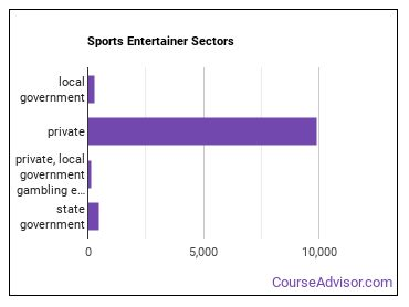 Sports Entertainer Sectors