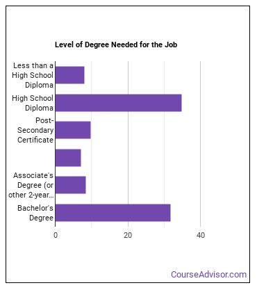 Gaming Manager Degree Level