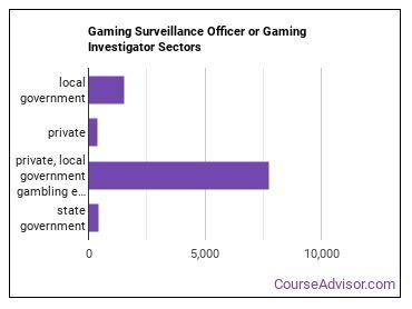 Gaming Surveillance Officer or Gaming Investigator Sectors