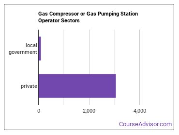 Gas Compressor or Gas Pumping Station Operator Sectors