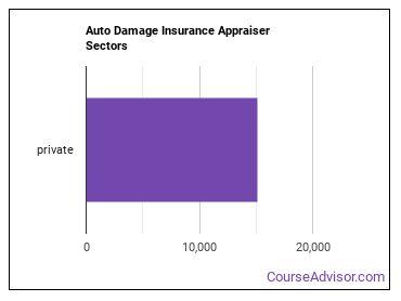 Auto Damage Insurance Appraiser Sectors
