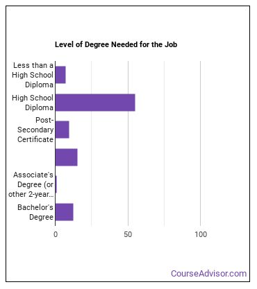 License Clerk Degree Level