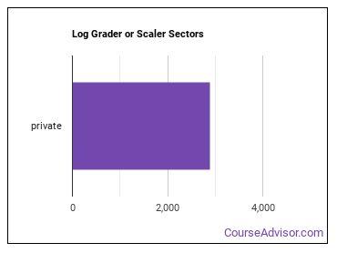 Log Grader or Scaler Sectors