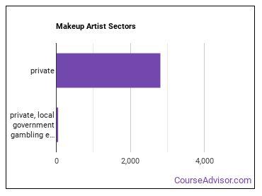 Makeup Artist Sectors
