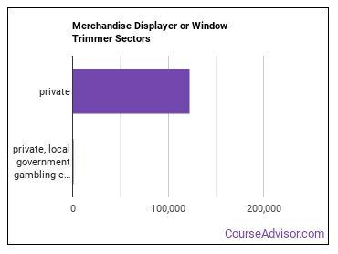 Merchandise Displayer or Window Trimmer Sectors