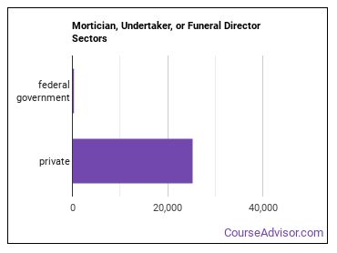 Mortician, Undertaker, or Funeral Director Sectors