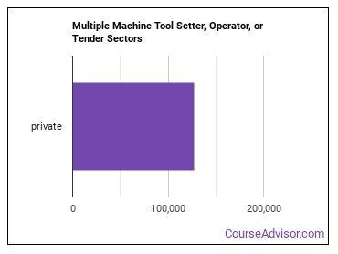 Multiple Machine Tool Setter, Operator, or Tender Sectors