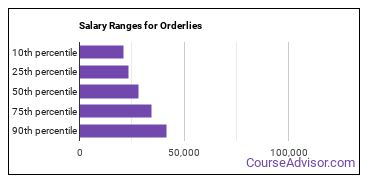 Salary Ranges for Orderlies