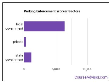 Parking Enforcement Worker Sectors