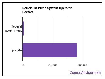 Petroleum Pump System Operator Sectors