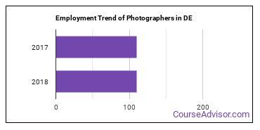 Photographers in DE Employment Trend