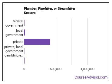 Plumber, Pipefitter, or Steamfitter Sectors