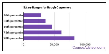 Salary Ranges for Rough Carpenters