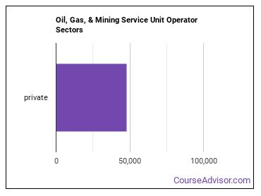 Oil, Gas, & Mining Service Unit Operator Sectors