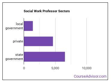 Social Work Professor Sectors