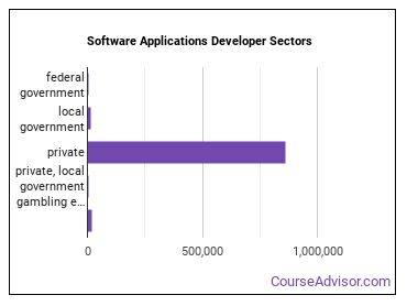 Software Applications Developer Sectors