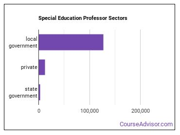 Special Education Professor Sectors