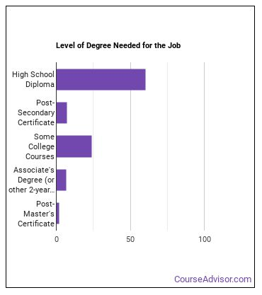 Subway or Streetcar Operator Degree Level