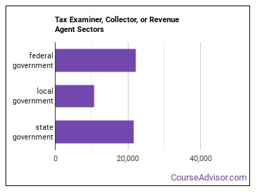 Tax Examiner, Collector, or Revenue Agent Sectors