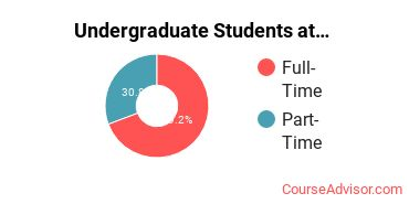Number of Undergraduate Students at Academy College