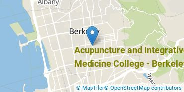 Location of Acupuncture and Integrative Medicine College - Berkeley