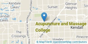 Location of Acupuncture and Massage College