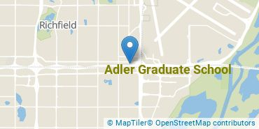 Location of Adler Graduate School