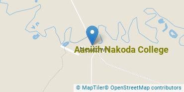 Location of Aaniiih Nakoda College