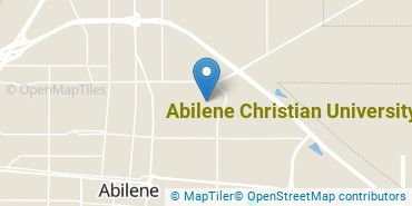 Location of Abilene Christian University