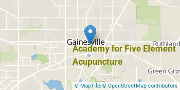 Location of Academy for Five Element Acupuncture