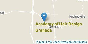 Location of Academy of Hair Design - Grenada