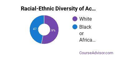 Racial-Ethnic Diversity of Academy of Hair Design - Grenada Undergraduate Students