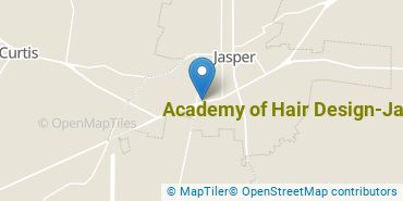 Location of Academy of Hair Design - Jasper