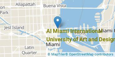 Location of AI Miami International University of Art and Design