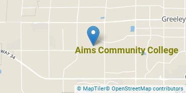 Location of Aims Community College