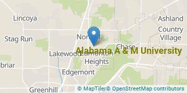 Location of Alabama A & M University