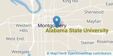 Location of Alabama State University
