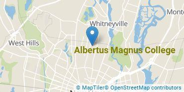 Location of Albertus Magnus College