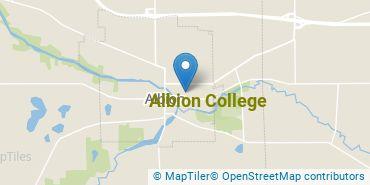 Location of Albion College