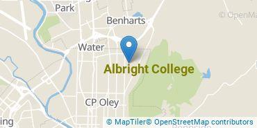 Location of Albright College