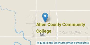 Location of Allen County Community College